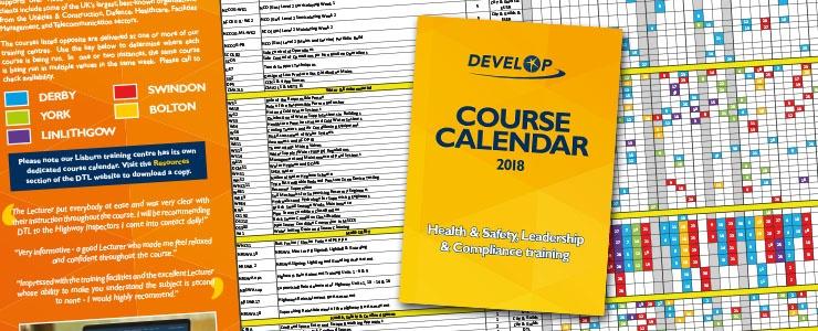 Download DTL's Course Calendar 2018