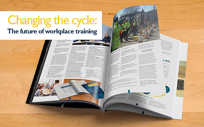 Change the Cycle: The future of workplace training by DTL